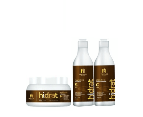 Hidrat Home Care Kit d'entretien Manioc 3x500ml - Tree Liss