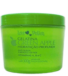 Hydrating Gelatine Green Apple Jelly Hair Treatment Mask 300g - Love Potion