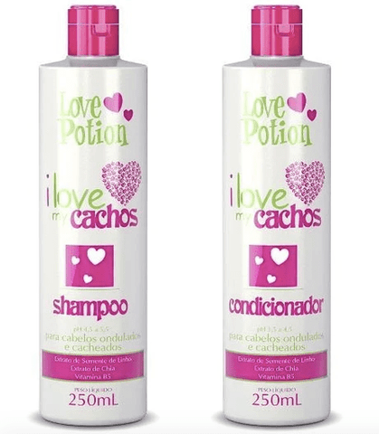 I Love My Cachos Home Care Maintenance Hair Treatment Kit 2x250ml - Love Potion