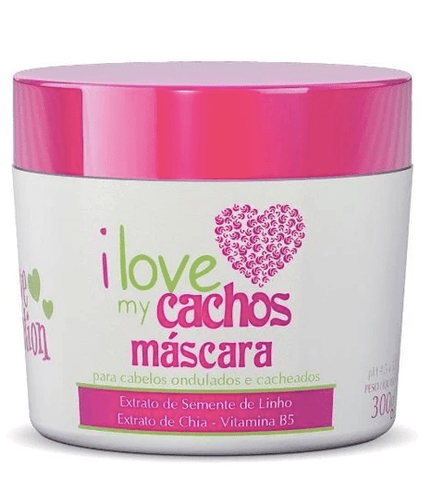 I Love My Cachos Mask B5 Vitamin Flax Seed Chia Extract Mask 300g - Love Potion