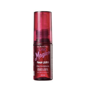 Keeping Liss Liso Mágico Perfect Smooth Disciplining Sealing Oil 30ml - Lowell