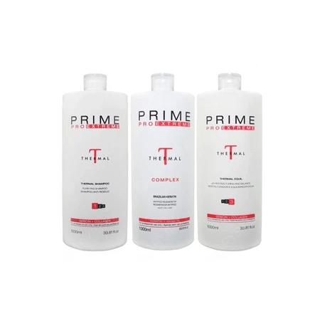 Kit Professional Thermal Complex Hair Treatment 3x1 - Prime Pro