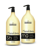 Macadamia Kit Shampoo and Conditioner Capillary Daily Treatment 2x2500ml - Nuance