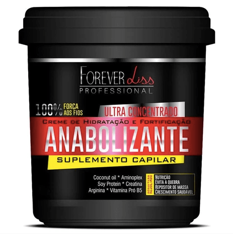 Masque Capillaire Anabolique Force et Nutrition 950gr - Forever Liss