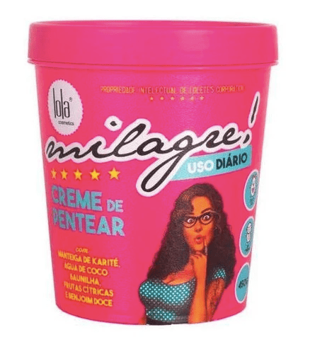 "Milagre ""Miracle"" Daily Treatment Combing Cream Hair Mask 450g - Lola Cosmetics"