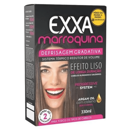 Moroccan Exxa Thermal Volume Reducer Progressive Anti Frizz 330ml - Salon Line