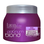 Platinum Blond Toning Ontioxidant Hair Mask Conditioner 250g - Forever Liss