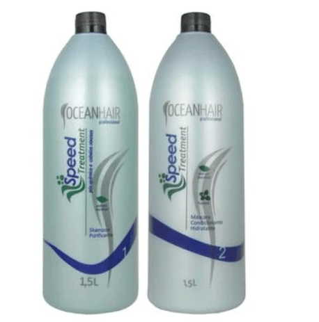 Post-Chemical Speed Treatment Kit 2x1500ml - Ocean Hair