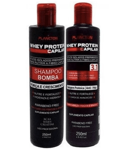 Post Chemistry Hair Treatment Whey Protein Kit 2x250ml - Plancton Professional