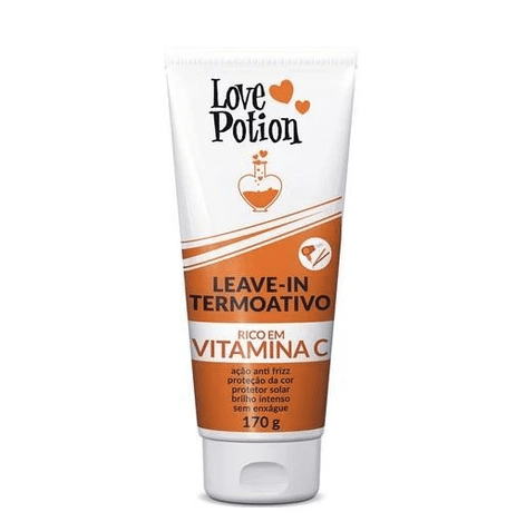 Professional Anti Frizz Vitamin C Thermo Active Hair Leave-In 170g - Love Potion