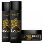 Professional Bioline Premium Home Care Hair Maintenance Kit 3 Products - Sphair