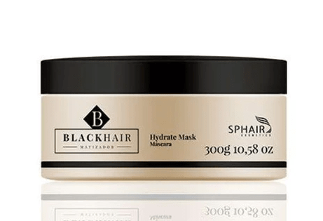 Professional Black Hair Hydrate Toning Moisturizing Treatment Mask 300g - Sphair