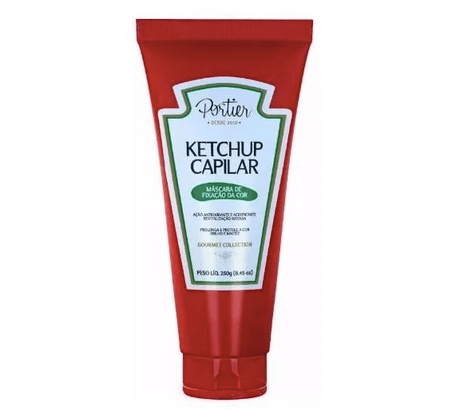 Professional Hair Color Fixing Ketchup Mask Gourmet Collection 250g - Portier