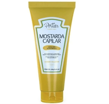 Professional Hair Mustard Invigorating Mask Gourmet Collection 250g - Portier