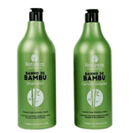 Professional Hair Treatment Bamboo Bath Shampoo and Conditioner 2x1L - Natureza