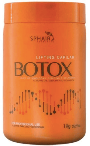 Professional Keratin Hair Treatment Capillary Lifting Botox Mask 1kg - Sphair