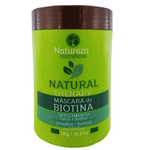 Professional Natural Therapy Organic Biotin Mint Ginger Mask 1Kg - Natureza