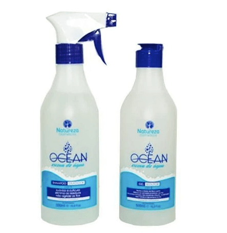 Professional Ocean Water Progressive Brush Hair Treatment 2x500ml - Natureza