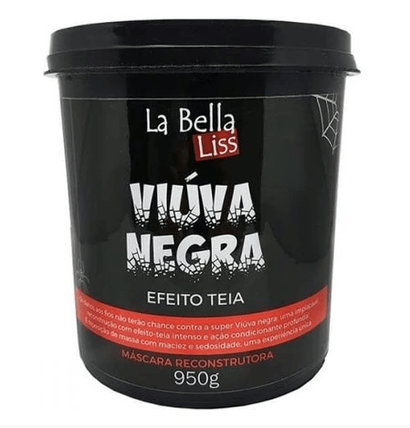 Professional Reconstruction Black Widow Cob Effect Mask 950g - La Bella Liss