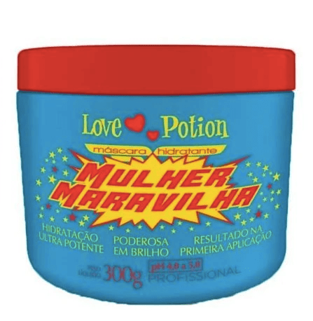 Professional Wonder Woman Moisturizer Hair Treatment Mask 300g - Love Potion