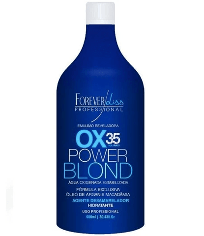 Revealing Emulsion Oxygenated Water Power Blond OX 35 Vol. 900ml - Forever Liss