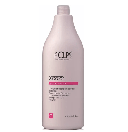Revitalisant professionnel Xcolor Protector 1500ml - Felps