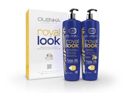 Royal Look Hair Straightener - Olenka