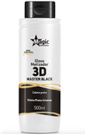 Traitement Effet Intense Master Black 3D Masque Teintant Brillant Noir 500ml - Magic Color