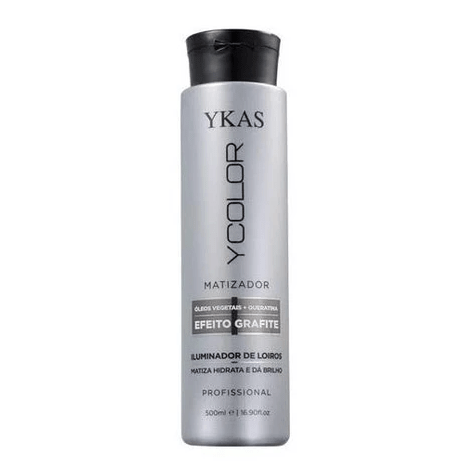 Ycolor Tinting Graphite Effect Illuminator Keratin Vegetable Oil 500ml - Y-Kas