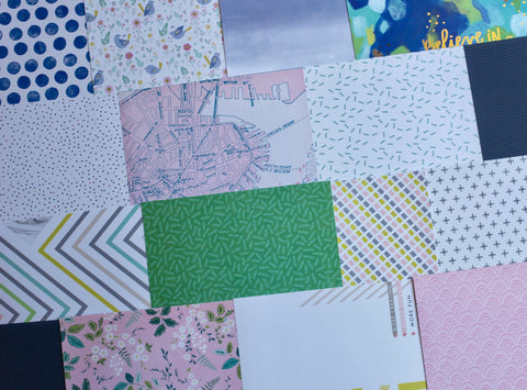 More July Patterned Paper