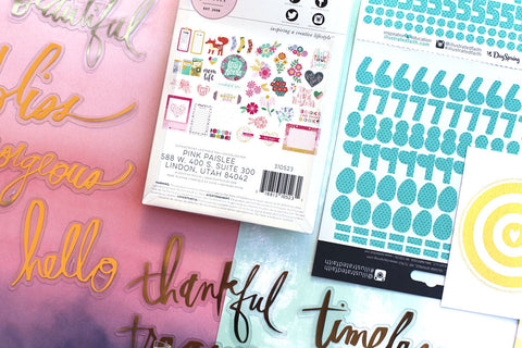 April Embellishment Add-on: Adore You