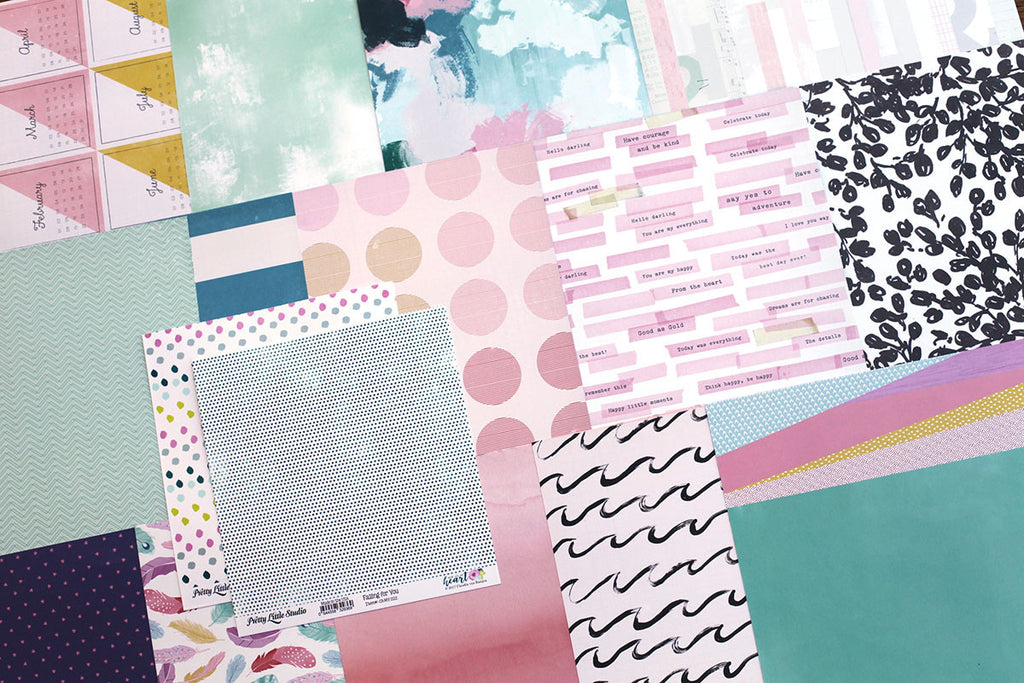 More Our Story Patterned Paper