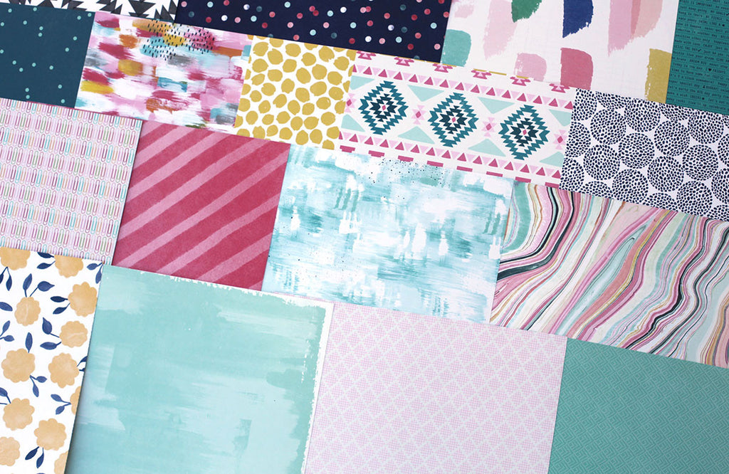 More Everyday Stories Patterned Paper