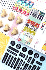 February Embellishment Add-on: Record It