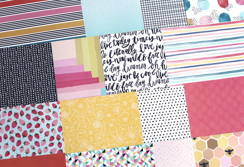 More So This Happened Patterned Paper