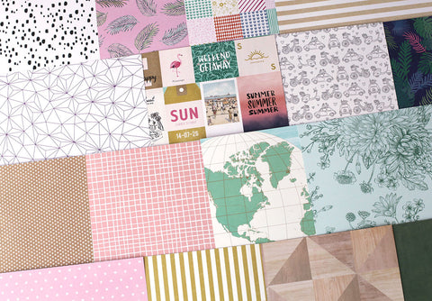 More Sunshine Days Patterned Paper