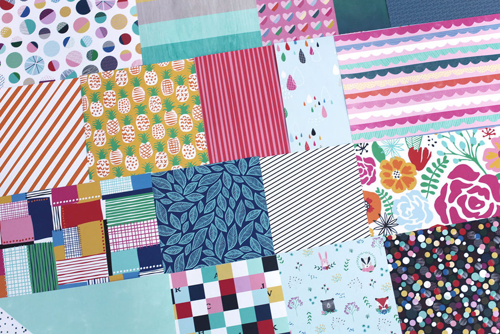 More Happy Place Patterned Paper