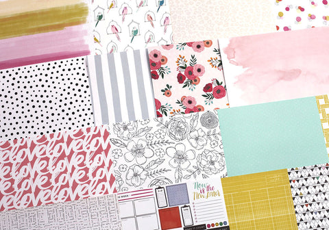 More May Take Note Patterned Paper