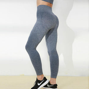 Butt Lifting Tight Seamless Yoga Leggings - Ahanova Sports