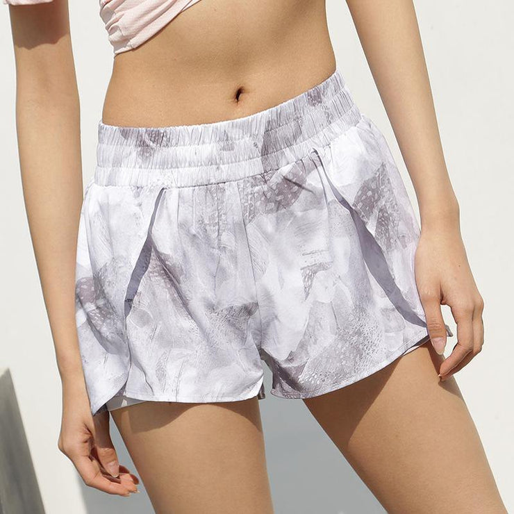 Loose Fake Two Piece Fitness Shorts - Ahanova Sports