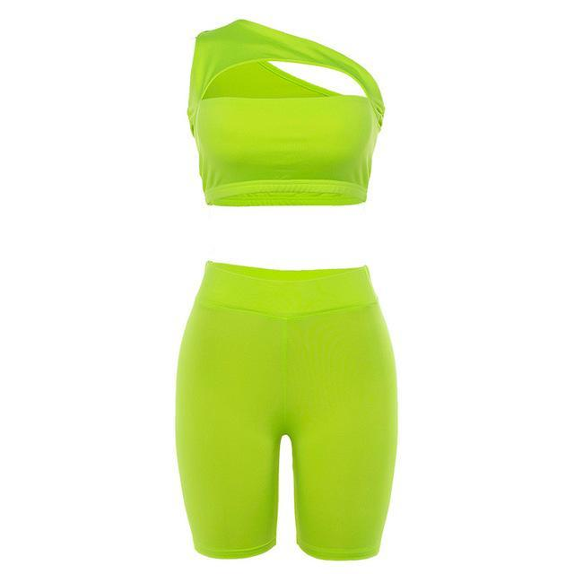 Hollow Front Hip-lifting Activewear Yoga Suit - Ahanova Sports