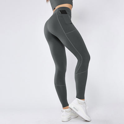 High Waist Fashion Design Seamless Leggings - Ahanova Sports