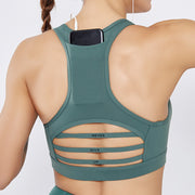 Beauty Back Pocket Shockproof Sport Bar - Ahanova Sports
