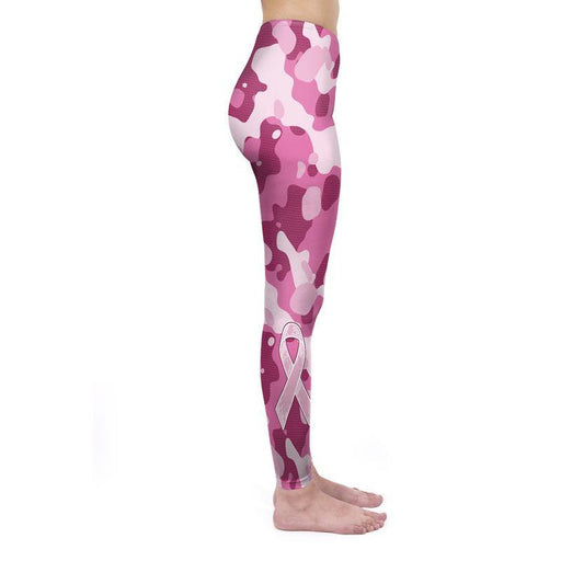 Floral Print Letter Workout Leggings