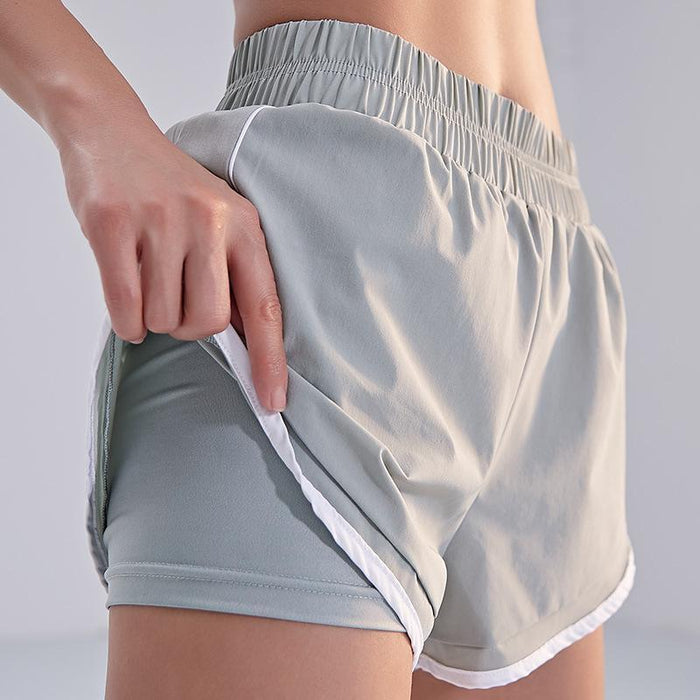Two-piece Yoga Shorts