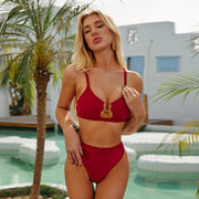 Sexy Fing Design High Waist Bikini - Ahanova Sports