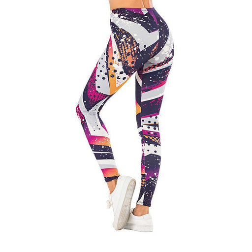 3D Series Modern Abstract Painting Print Yoga Leggings