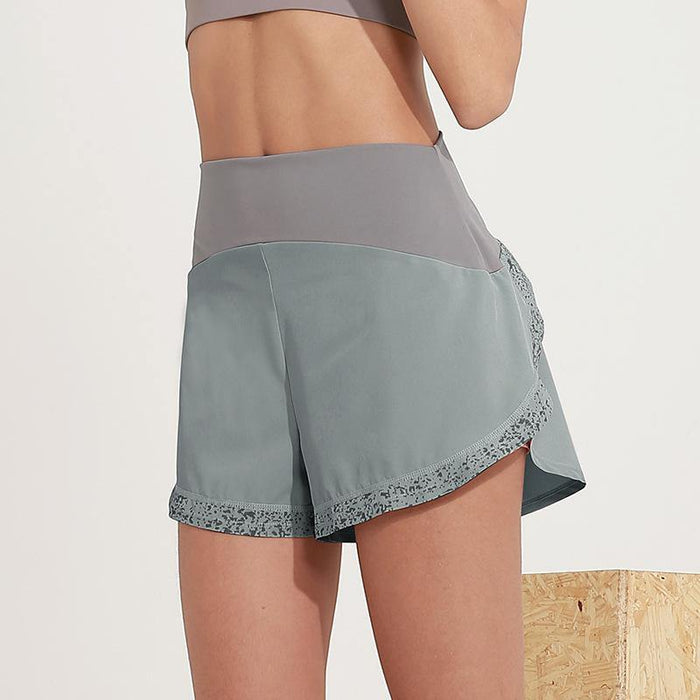 Thin  Quick Print Shorts - Ahanova Sports