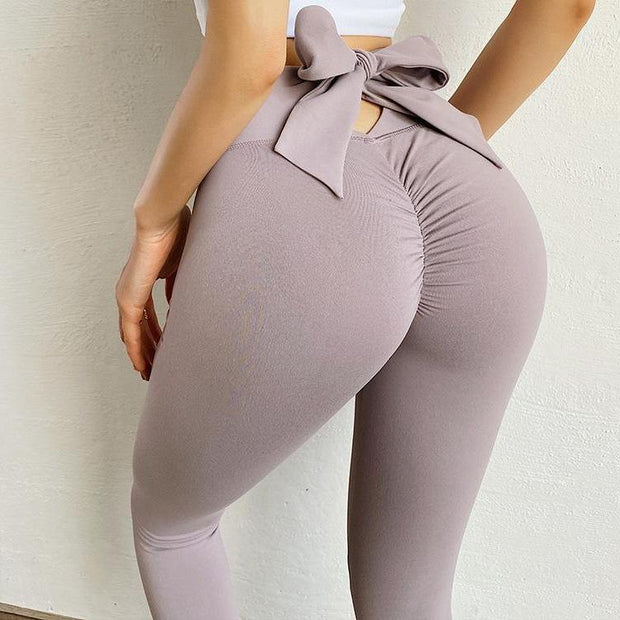 Stylish Casual Quick-Dry Yoga Peach Lift Leggings - Ahanova Sports
