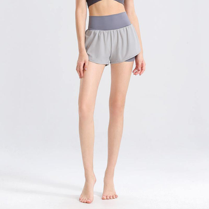 Fake Two-piece Loose Quick-Dry Shorts - Ahanova Sports